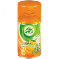 Сменный баллон для освежителя воздуха Airwick Freshmatic Антитабак. Апельсин и бергамот, 250мл