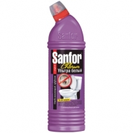 Средство для туалета и ванн Sanfor Chlorum. Ультра белый 2 в 1, 750мл