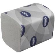 Бумага туалетная листовая Kimberly-Clark Kleenex 2-слойная, 200лист/пач, белая