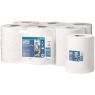 Полотенца бумажные в рулонах Tork Advanced(М2), 2-слойные, 125м/рул, ЦВ, тиснение, белые