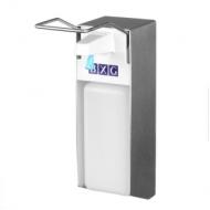 Диспенсер для жидкого мыла BXG ESD-1000, локтевой, механический, 1л