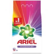 Порошок для машинной стирки Ariel Color, 3кг