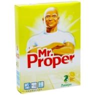 Средство для мытья полов и стен Mr.Proper Лимон, порошок, 400г