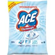 Пятновыводитель Ace OxiMagic White, порошок, для белых тканей, 200г