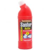 Средство для туалета Sanfor Аctive. Антиржавчина, 1л