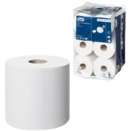 Бумага туалетная Tork SmartOne mini Advanced 2-слойная, мини-рулон, 111м/рул, тиснение, белая