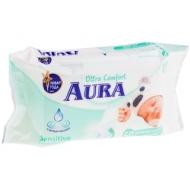 Салфетки влажные Aura Ultra comfort, 60шт., детские, с алоэ