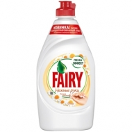 Средство для мытья посуды Fairy Нежные руки. Ромашка и витамин Е, 450мл