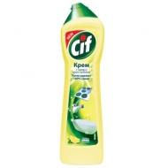 Средство чистящее Cif Active lemon, крем с микрокристаллами, 500мл
