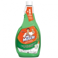 Средство для мытья стекол Mr.Muscle Утренняя роса, 500мл, сменный флакон