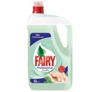 Средство для мытья посуды Fairy Professional Sensitive Зеленый чай, канистра, 5л