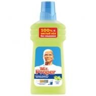 Средство для мытья полов и стен Mr.Proper Бодрящий лайм и мята, 500мл
