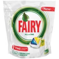 Капсулы для посудомоечной машины Fairy All in 1. Лимон, 36шт.