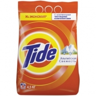 Порошок для машинной стирки Tide Альпийская свежесть, 4,5кг
