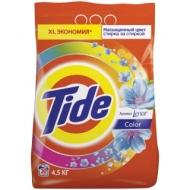 Порошок для машинной стирки Tide Color Lenor Эффект, 4,5кг