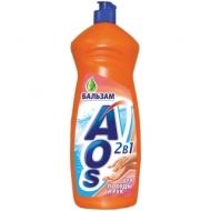 Средство для мытья посуды AOS Бальзам, 900мл