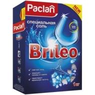 Соль специальная для посудомоечной машины Paclan Brileo, 1кг