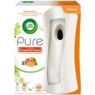 Комплект освежитель воздуха авт. и смен. блок Airwick Freshmatic Pure. Апельсин и грейпфрут, 250мл
