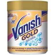 Пятновыводитель/отбеливатель Vanish Gold Oxi Action, порошок, для белых тканей, 500г