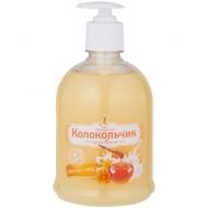 Мыло-крем жидкое Душистый Колокольчик Молоко - мед, с дозатором, 500мл