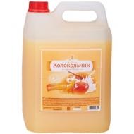 Мыло-крем жидкое Душистый Колокольчик Молоко и мед, канистра, 5л
