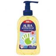 Мыло жидкое Aura Antibacterial. Экстракт ромашки, с дозатором, 300мл