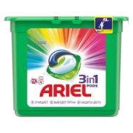 Капсулы для машинной стирки Ariel Color, 3в1 Pods, 23шт.*27г