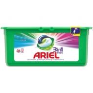 Капсулы для машинной стирки Ariel Color, 3в1 Pods, 30шт*27г