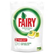 Капсулы для посудомоечной машины Fairy Original. All in1. Лимон, 60шт.