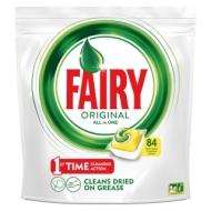 Капсулы для посудомоечной машины Fairy Original. All in1. Лимон, 84шт.