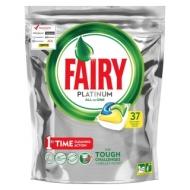 Капсулы для посудомоечной машины Fairy Platinum. All in 1. Лимон, 37шт. (ПОД ЗАКАЗ)