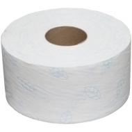 Бумага туалетная OfficeClean Premium(T2) 2-слойная, мини-рулон, 170м/рул, мягкая, тиснение,белая