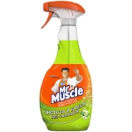 Средство для мытья стекол и др. поверхн. Mr.Muscle Лайм , 500мл, с курком
