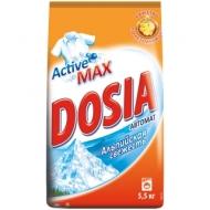 Порошок для машинной стирки Dosia Automat. Альпийская свежесть, 5,5кг