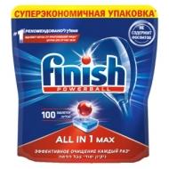 Таблетки для посудомоечной машины Finish All in1 Max, 100шт.