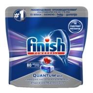 Таблетки для посудомоечной машины Finish Quantum Max, 80шт.