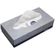 Салфетки косметические Kimberly Clark, 2-слойные, 18,6*21,5см, в картонном боксе, белые, 100шт.