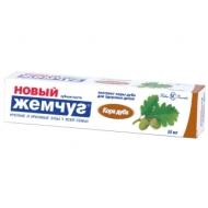Зубная паста Новый Жемчуг Кора Дуба, 50мл