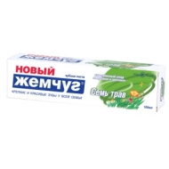 Зубная паста Новый Жемчуг Семь трав, 100мл
