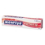 Зубная паста Новый Жемчуг Тотал 12. Восстановление эмали, 100мл
