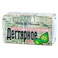 Мыло туалетное Невская Косметика Дегтярное, пленка, 140г