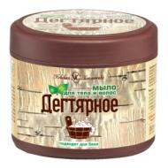 Мыло для тела и волос Невская Косметика Дегтярное, 300мл