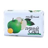 Мыло туалетное Невская Косметика Дивный сад. Зеленое яблоко, бумажная обертка, 90г