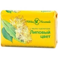 Мыло туалетное Невская Косметика Липовый цвет, бумажная обертка, 90г