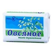 Мыло туалетное Невская Косметика Овсяное, бумажная обертка, 90г