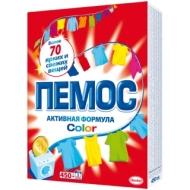 Порошок для машинной стирки Пемос Color, для цветного белья, 350г