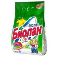 Порошок для машинной стирки Биолан Color, 2,4кг