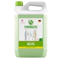 Мыло жидкое Synergetic Луговые травы, гипоаллергенное, увлажнение, питание, канистра, 5л