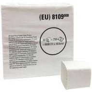 Бумага туалетная листовая Kimberly-Clark 2-слойная, 250л/пач, белая