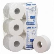 Бумага туалетная Kimberly-Clark Scott Mini Jumbo 2-слойная, 200м/рул., белая